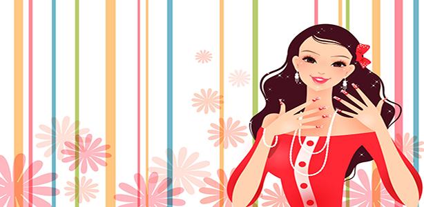 Gorgeous-dress-fashion-girl-vector_2