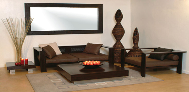 Stylish-wooden-armchair-and-coffee-table2